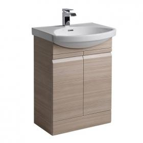 Roper Rhodes Profile Pale Driftwood 600mm Freestanding Unit and Basin
