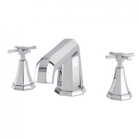 Perrin & Rowe Deco Crosshead Deck Mounted Bath Filler