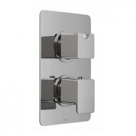 Vado Phase Twin Outlet Thermostatic Shower Valve