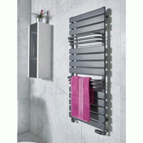 Phoenix Lift 1290mm Designer Heated Towel Rail