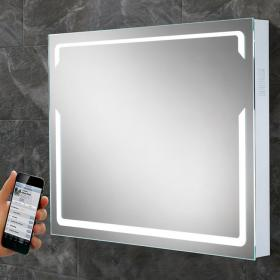 HIB Pulse LED Bluetooth Bathroom Mirror