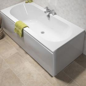 Pura Curve 1700 x 700mm Double Ended Bath
