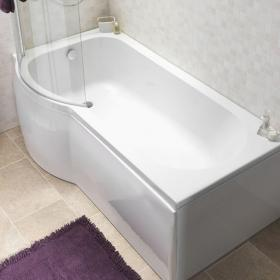 Photo of Pura Curve 1675mm Left Hand Shower Bath