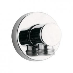 Pura Round Elbow Wall Outlet