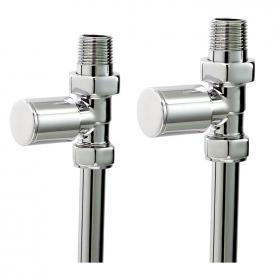 Photo of Phoenix Minimalistic Straight Radiator Valves
