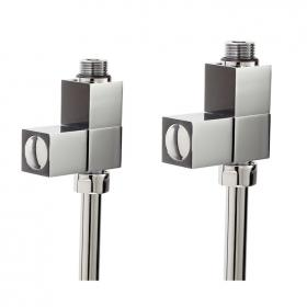 Photo of Phoenix Square Straight Radiator Valves
