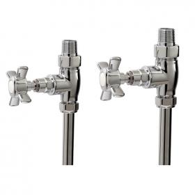 Photo of Phoenix Traditional Straight Radiator Valves