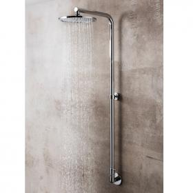 Crosswater Central Exposed Inline Manual Shower Valve Integrated Within The Riser
