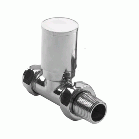 Radox Circulus Chrome Straight Wheelhead  Valve