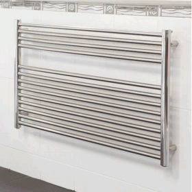 Radox Premier XL Flat Stainless Steel Towel Radiator - Horizontal