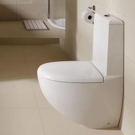 Photo of Rak Reserva Close Coupled Flush to Wall WC