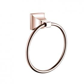 Heritage Chancery Rose Gold Towel Ring