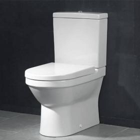 Vitra S50 Compact Close Coupled WC (Closed Back)