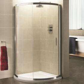 Sommer 6 900mm Quadrant Single Door Shower Enclosure with Shower Tray