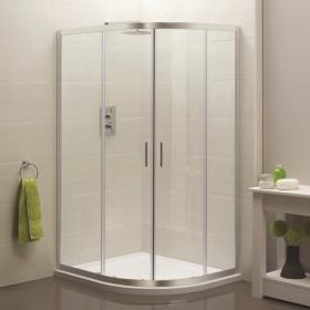 Photo of Sommer 6 Offset Quadrant Twin Door Shower Enclosure