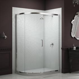 Photo of Sommer 8 Offset Quadrant Single Door Shower Enclosure