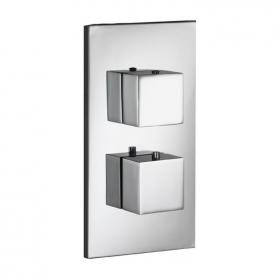 Pura SQ2 Single Outlet Thermostatic Shower Valve