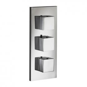 Photo of Pura SQ2 Dual Outlet Thermostatic Concealed Shower Valve
