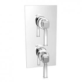Heritage Somersby Recessed Shower Valve Chrome Finish