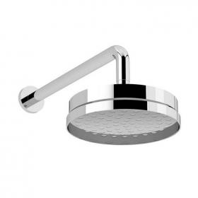 Heritage Deluxe Fixed Shower Head Kit Chrome Finish
