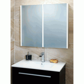 Phoenix Saturn Twin Door Mirror Cabinet