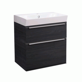 Roper Rhodes Scheme 500mm Umbra Wall Mounted Vanity Unit and Basin