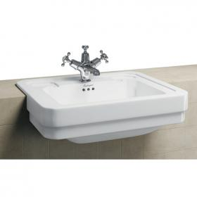 Burlington Victorian 580 Semi Recessed Basin
