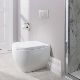 Bauhaus Stream II Back To Wall WC & Seat