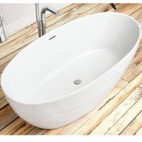 Waters I-Line Stream 1700mm Freestanding Bath