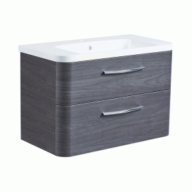 Roper Rhodes System 800mm Umbra Wall Mounted Vanity Unit and Basin