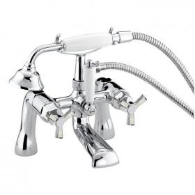 Photo of Heritage Gracechurch Mother Of Pearl Bath Shower Mixer