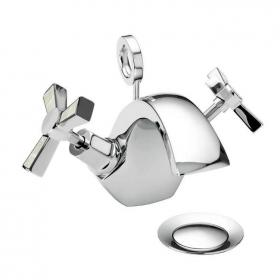 Heritage Gracechurch Mother Of Pearl 1 Tap Hole Basin Mixer