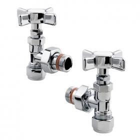 Zehnder Traditional Angled Radiator Valves