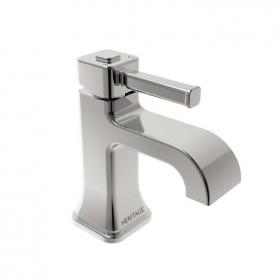 Heritage Somersby 1 Taphole Basin Mixer Chrome Finish
