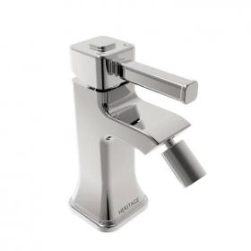 Heritage Somersby Bidet Mixer Chrome Finish
