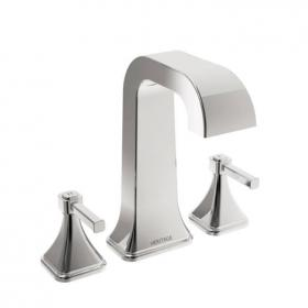 Heritage Somersby 3 Taphole Bath Filler Chrome Finish