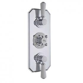 Hudson Reed Topaz Triple Concealed Thermostatic Shower Valve