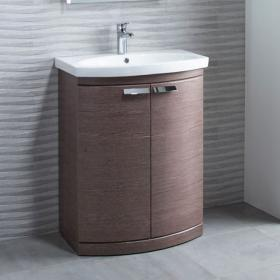 Tavistock Tempo 650mm Dark Java Freestanding Unit & Basin