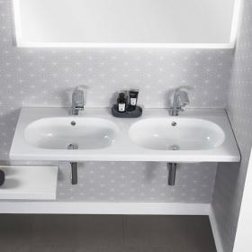 Roper Rhodes Theme 1210mm Wall Mounted Double Washbasin