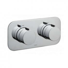 Vado Altitude Horizontal Twin Outlet Thermostatic Shower Valve