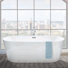 Photo of Phoenix Ultima 1600 x 750mm Freestanding Bath
