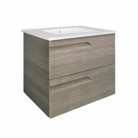 Frontline Vitale Fossil Grey 600mm Vanity Unit & Basin