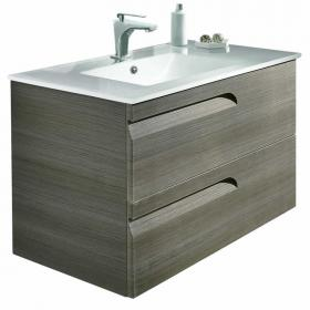 Frontline Vitale Fossil Grey 1000mm Vanity Unit & Basin