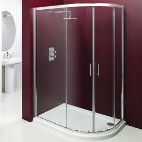 Merlyn Vivid Entree Offset Quadrant Shower Door