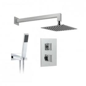 Vado Notion Twin Outlet Thermostatic Shower Valve Package