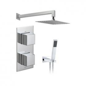 Vado Tablet Notion Twin Outlet Thermostatic Shower Pack