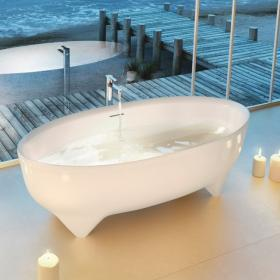 Clearwater Vigore 1700mm Natural Stone Freestanding Bath