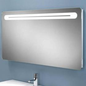 HIB Vortex LED Bathroom Mirror with Charging Socket