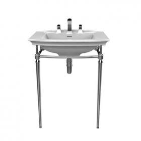Heritage Blenheim Basin & Abingdon Washstand Chrome Finish