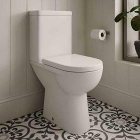 Photo of The White Space Closed Coupled Comfort Height WC